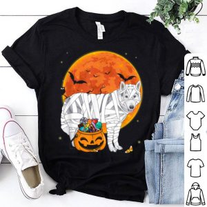 Hot Czechoslovakian Wolfdog Candy Pumpkin Halloween Gifts shirt
