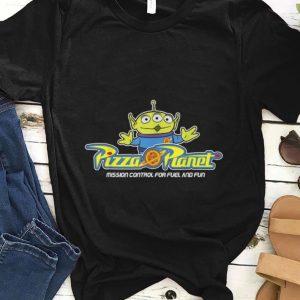 Hot Disney Pixar Toy Story Alien Pizza Planet Mission Control shirt