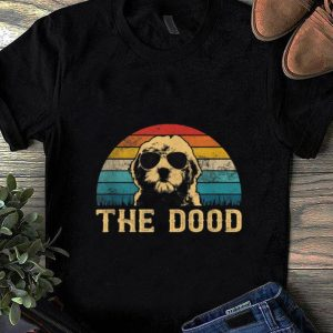 Hot Vintage Goldendoodle The Dood shirt