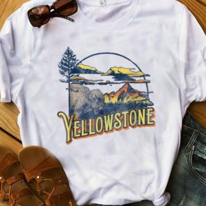 Hot Vintage Yellowstone National Park Retro shirt