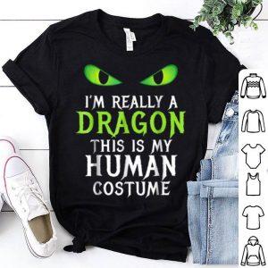 Nice Funny Scary Dragon Costume Halloween For Women Men Boy shirt