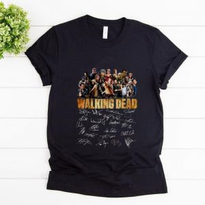 Nice The Walking Dead Signature shirt