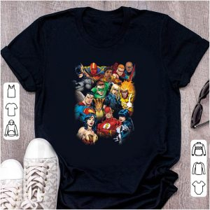 Official DC Justice League All Here shirt
