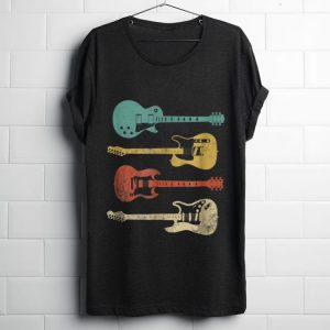 Official Vintage Electric Guitar Distressed shirt