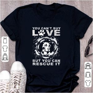 Official You Can't Buy Love But You Can Rescue It Pitbull shirt