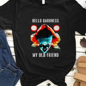 Official hello darkness my old friend pennywise shirt