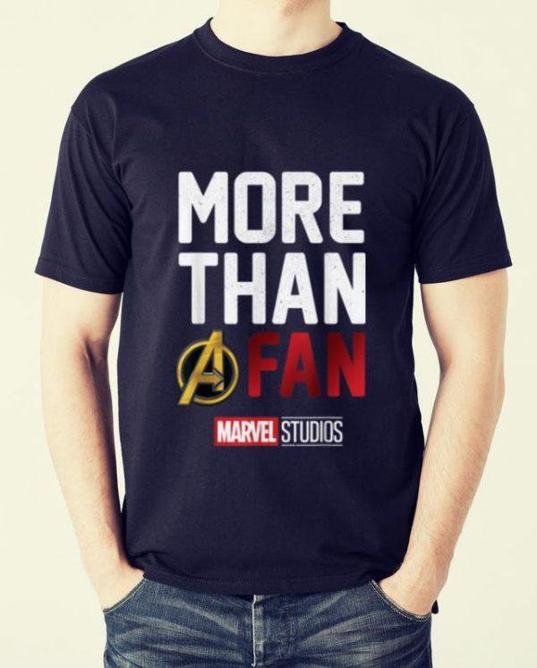 Premium Avengers More Than A Fan Marvel Studio shirt