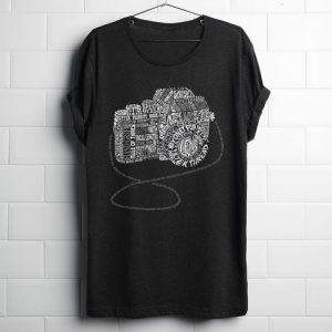 Premium Camera Amazing Anatomy Typography shirt