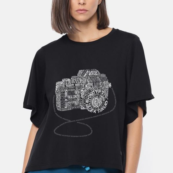 Premium Camera Amazing Anatomy Typography shirt