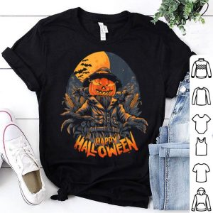 Premium Scarecrow In Halloween Pumpkin Happy Halloween Great Gift shirt