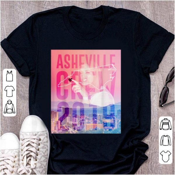 Pretty Asheville Crew 2019 Side Piece Action shirt