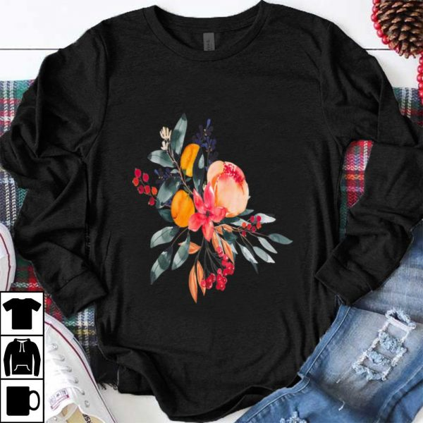 Pretty Fall Colors Flowers shirt