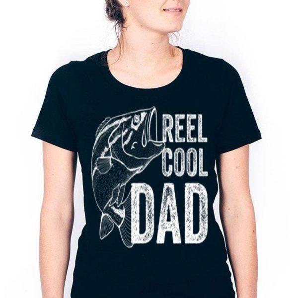 Reel Cool Dad Fishing Fathers Day Fisherman Fish shirt
