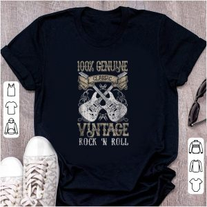Top 100% Genune Class Guitar Electric Vintage Rock N Roll shirt