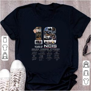 Top 16 Years Of NCIS 2003 - 2019 Signature shirt