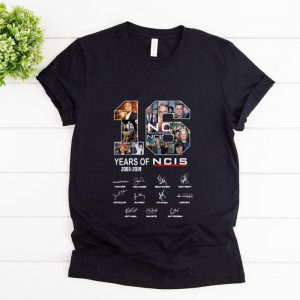 Top 16 Years Of NCIS Signature shirt