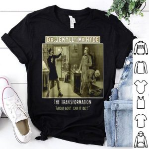Top Dr. Jekyll And Mr. Hyde-halloween Classic Monsters shirt