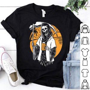 Top Drink Death Poleaxe Viking Halloween Women, Men Kids shirt