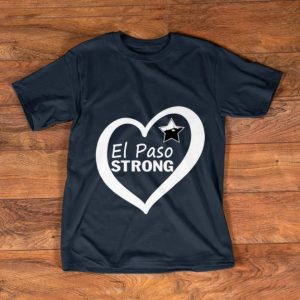 Top El Paso Strong Star Heart shirt