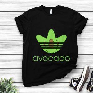 Top adidas avocado shirt