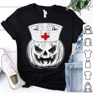 Awesome Halloween Nursing Scary Pumpkin Hospital Night Party shirt