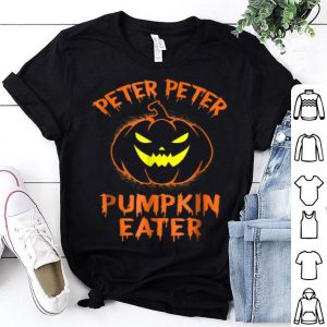 Awesome Peter Peter Pumpkin Eater Halloween Costume Couples shirt