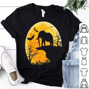 Beautiful Moon Halloween Elephant Funny Costume Gift For Animal Lover shirt