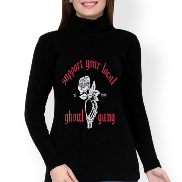 Ghoul Gang Til Death Halloween Graphic shirt