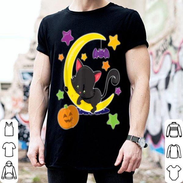 Happy Halloween Spooky Pumpkins Halloween Cat shirt