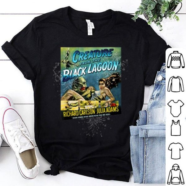 Hot Vintage Creature From the Black Lagoon Halloween shirt