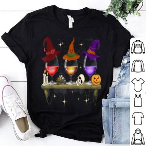 Hot Wine Glass Of Witchcraft Halloween Funny Costume Gift shirt