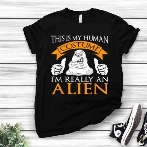 I'm Really An Alien Funny Halloween Party Costume shirt