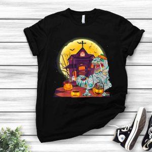 Mummy Pumpkin Dinosaur Halloween Gifts Kids shirt
