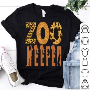 Nice Zoo Keeper Animal Love Jungle Safari Explorer DIY Gift shirt
