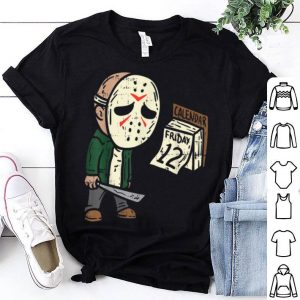 Official Friday 12th Funny Halloween Horror Movie Humor shirt