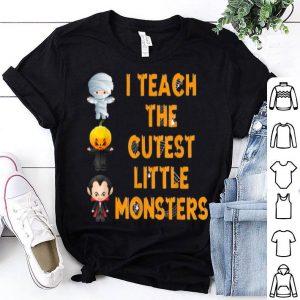Official Halloween Teacher Cutest Monsters shirt
