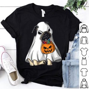 Official Pug Dog Halloween Ghost Costume Gift shirt