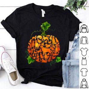 Official Pumpkin golden retriever Halloween Costume Gift Men Women shirt