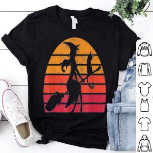 Official Retro Vintage Witch Halloween Costume Men Women Gift shirt
