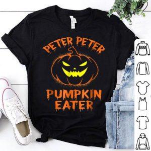 Peter Peter Pumpkin Eater Halloween Costume Couples shirt