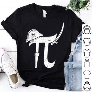 Pi-rate Math Pirate Pun Halloween shirt