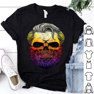 Top Creepy Bearded Skull For Halloween & Skeletons Fans shirt