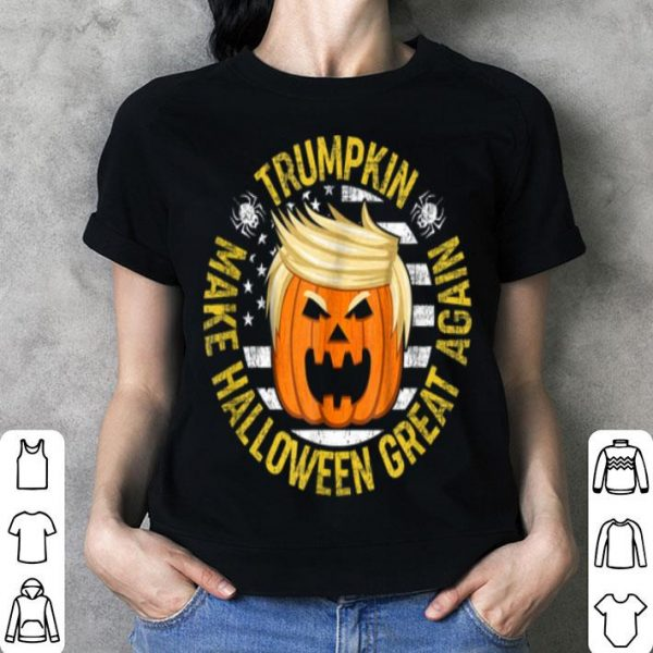 Top Usa Trumpkin Make Halloween Great Again Funny shirt
