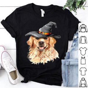 Awesome Golden Retriever Halloween Costumes Gifts Funny Dog shirt