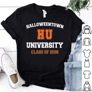 Funny Halloween Town University Class of 1998 shirt