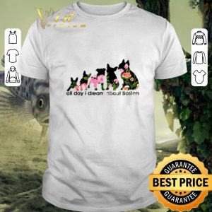Hot Adidas all day i dream about Boston Terrier shirt