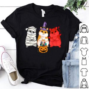 Hot Guinea Pigs happy Halloween, Cute mummy witch demon shirt