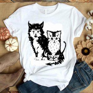 Hot Halloween Black Cat Wicked Hex Kitten Funny Cute Costume shirt