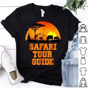 Hot Safari Tour Guide Costume Halloween Outfit Women Men shirt