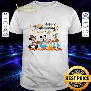 Nice Disney Characters Happy Thanksgiving shirt
